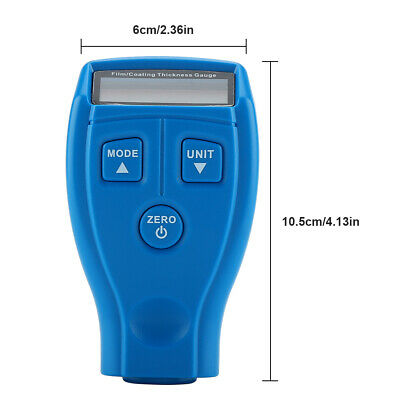 Coating Thickness Gauge LCD Digital Paint Thickness Meter Tester LCD Y0G7