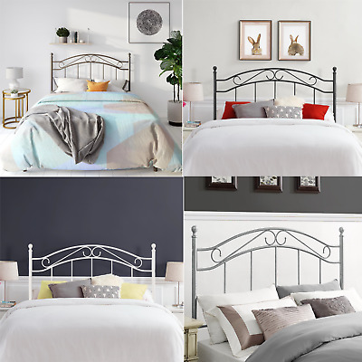 Traditional Style Elegant Full/Queen Metal Headboard Bedroom Furniture Decor New