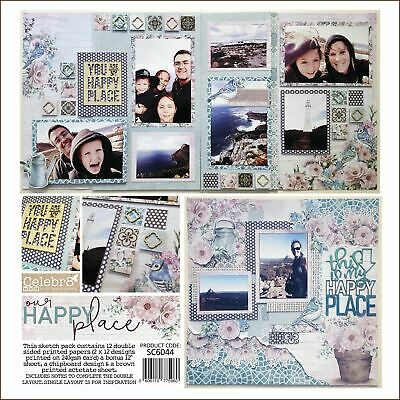 Celebr8 Sketch Pack - Our Happy Place SC6044