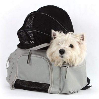 Carrier Dog Cat Pet Backpack Soft-sided Summer Travel Holiday Walking Raincover