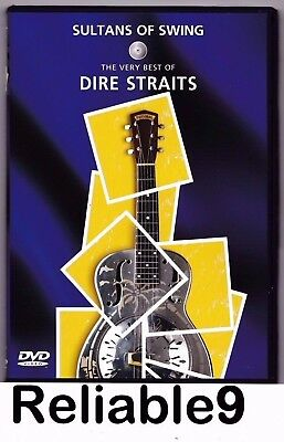 Dire Straits - Sultans of Swing The very best of DVD+booklet New not sealed AUS