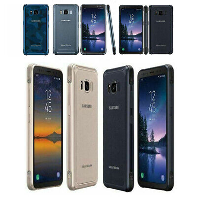 New Sealed 5.8'' Samsung Galaxy S8 Active G892A 4+64GB Factory Unlocked Android