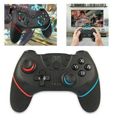 Bluetooth Wireless Gamepad Joystick Pro Controller Ft For Nintendo Switch UK VHS