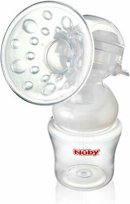Nuby Manual Breast Pump Natural Touch