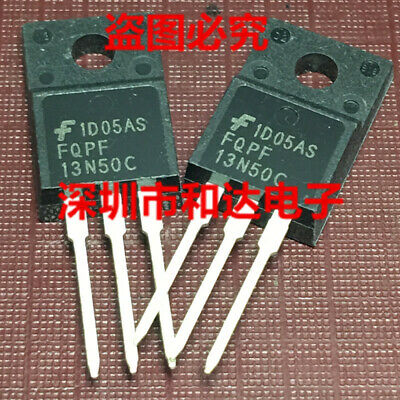 10 x FQPF13N50C TO-220F 500V N-Channel MOSFET