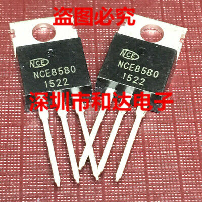 10 x NCE80H11 N-Channel Enhancement Mode Power MOSFET TO-220 80V 110A