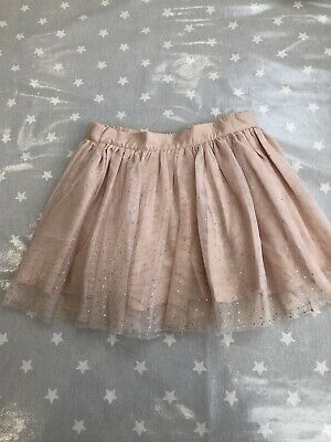 STELLA McCARTNEY KIDS GIRLS Orange Pink Lace Skirt AGE 10 YEARS