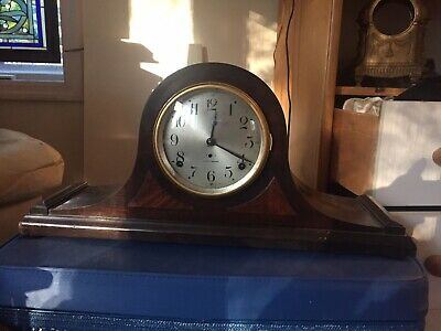 Antique Seth Thomas Bim Bam Normandie Chime Mantle Clock Working
