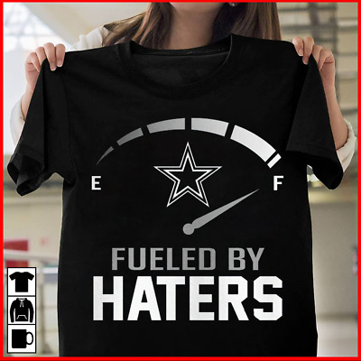 Dallas Cowboys Fueled By Haters Shirt S-5XL Dak Zeke Color Black And Navy Blue