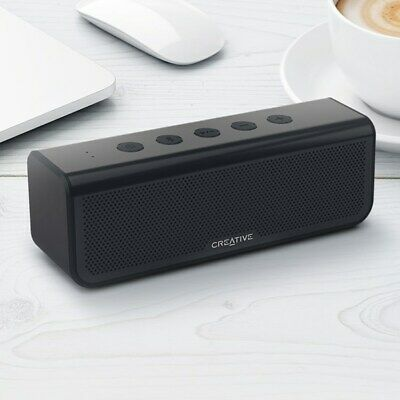 Metallix Plus Portable Dual Drivers Bluetooth 4.2 Speaker With 24 Hours Of Batte