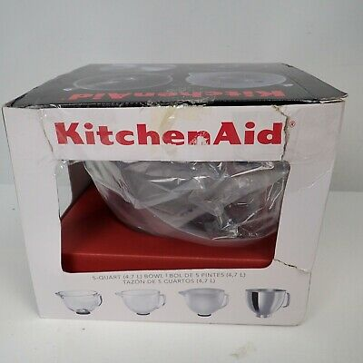 KitchenAid Glass Bowl for tilt head mixers USED EXCELLENT