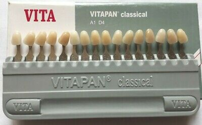 Vitapan Shade Guide classic Porcelain 16 Colors First Copy Dental Lab