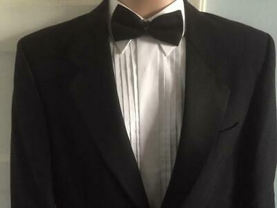 "Tuxedo Jacket 38"" Chest Single Breasted Black Tie Dinner Mr Harry Wool Mix Vgc"