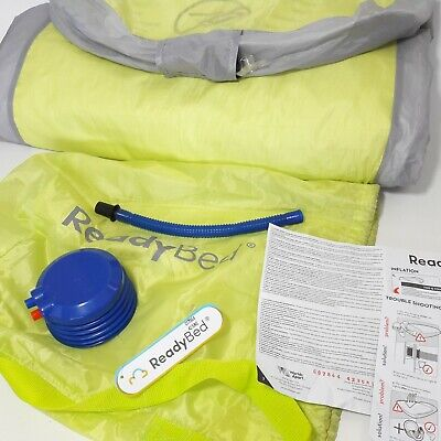 Childrens Ready Bed Air Bed Sleeping Bag In One Complete With Instructions Pump
