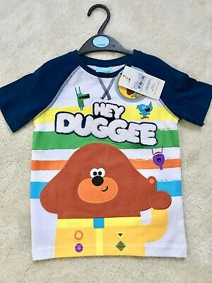 Hey Duggee Boys Short Sleeved T-shirt Age 3-4 Yrs (Up to 104cm)