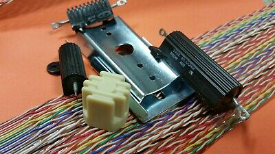 Ghostbusters Proton Pack Sage Dale Resitors Dixie Cup V Hook & Ribbon Cable L@@K