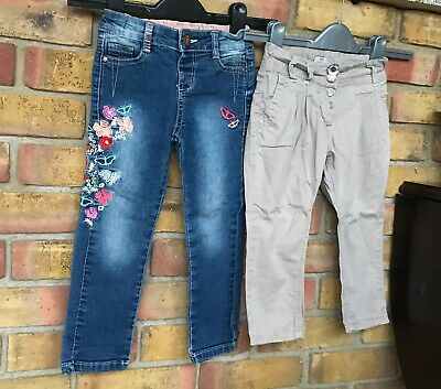Girls skinny jeans / chinos bundle size 2 - 3 years  BHS NEXT