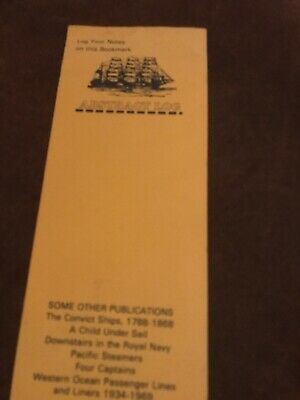Cardboard Bookmark. Brown, Son And Ferguson. Nautical Publishers. Glasgow.
