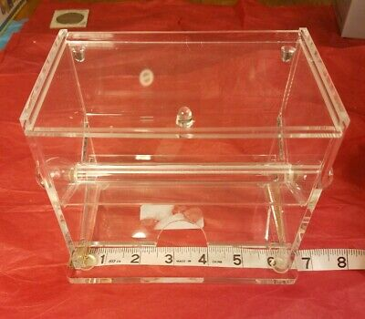 ACRYLIC TOOTHPICK DISPENSER - Large