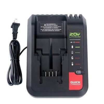 US Plug Charger For Black&Decker 20V MAX Battery LBXR20 LBXR2020 LB2X4020-OPE