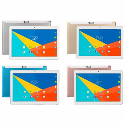 10.1 Zoll 2.5D 4G-LTE Tablet PC Android 8.0 8G+128GB Doppel-SIM Tablette PC EU