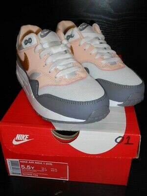 Nike Air Max 1 Boys Girls Multicolored Uk Size 5 New