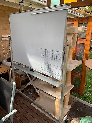 Whiteboard Large Freestanding Double Sided