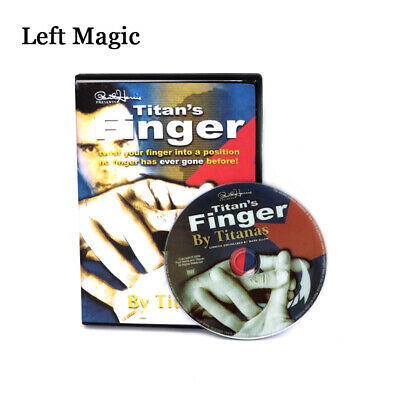 Paul Harris Presents Titan's Finger (Twist) (DVD + Gimmick) Magic Tricks Props