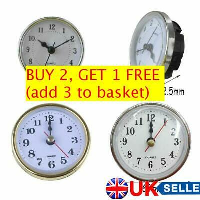 Roman Numeral Gold Trim Clock Quartz Mechanism DIY Parts Repair Replacement  UK