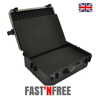 Transport Hard-Case Waterproof Equipment Trolly/Carry Case Storage Protective UK