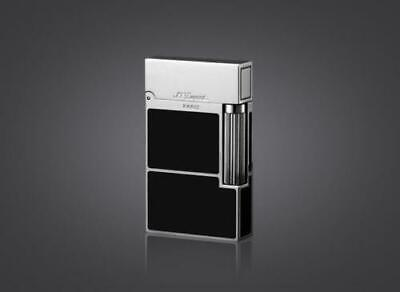 S.T Dupont Memorial lighter Bright Sound!Chinese Black Silver lacquer lighter