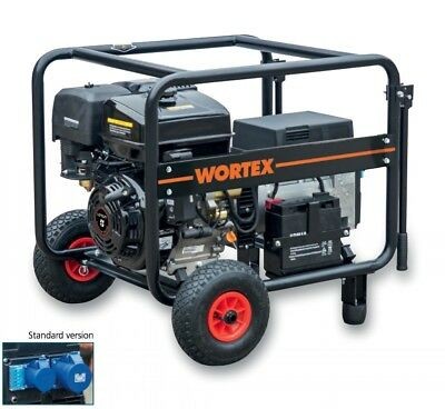 Power Generator Petrol Engine-Generator 8,5 Kva Start Electric