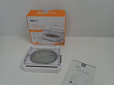 SureFeed Sealed Pet Bowl - For Dogs & Cats, Motion-Activated Lid X-DISPLAY