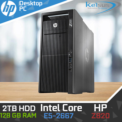 HP Z600 CAD Workstation Tower PC Intel Xeon CPU 3 06GHz 24GB