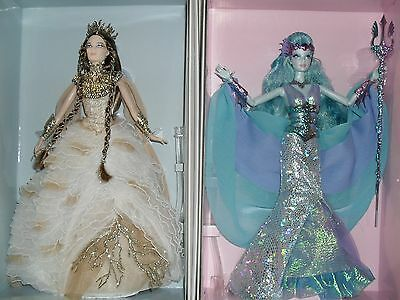 Faraway Forest  Lady Of The White Woods And Water Sprite Barbie Fantasy