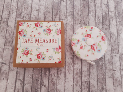 Rose Tape Measure, 150cm, Floral, Sewing Gift, Gift For Her, Stocking Fillers
