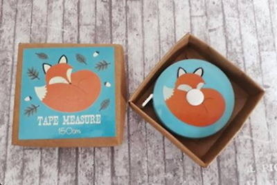 Fox Tape Measure, 150cm, Vintage, Sewing Gift, Gift For Her, Stocking Fillers
