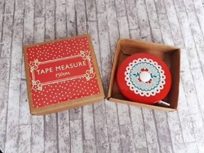Vintage Floral Doily Tape Measure, 150cm, Sewing Gift, Gift For Her, Supply