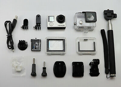 Gopro Hero 4 Silver Edition Camcorder 1080P Hd Card Sports Action Video Cam