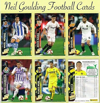 Panini MEGACRACKS [SPAIN] 2019-2020 ☆ La Liga Football Cards ☆ #271 to #360