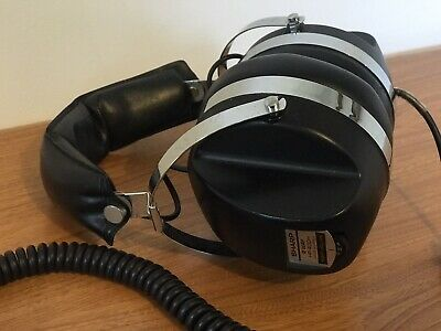 Vintage Sharp Hp-400H 2-Way Stereo Headphones.excellent Condition