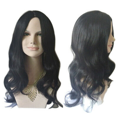 Fashion Women Long Hair Full Wig Natural Curly Wavy Cosplay Synthetic Hair Wigs