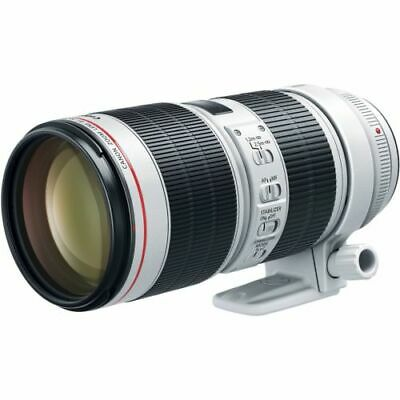 Canon EF 70-200mm f/2.8L IS III USM Camera Lens (3044C002) - White