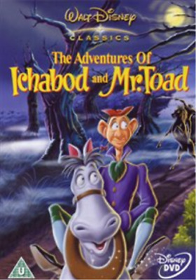 Adventures of Ichabod and Mr Toad DVD NUOVO