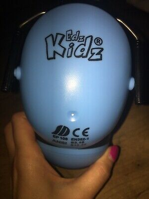 EDZ Kid Ear Defenders - Blue Matt