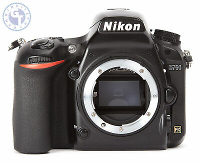 Nikon D750 24.3MP Digital SLR Camera (Body Only) FAULTY WATER DAMAGE