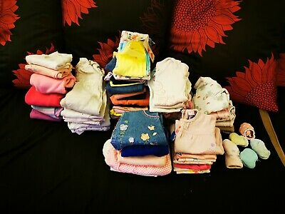 Large Bundle Of Girls 6-9 Months Clothes