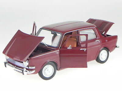 Simca 1000 LS 1974 darkred 1:18 Norev