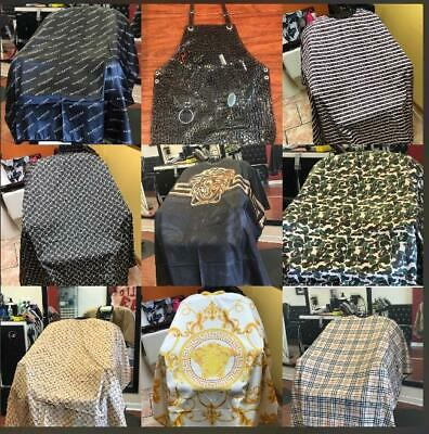 Barber and hair Stylist Capes, affordable, custom, amazing designer, luxury, new
