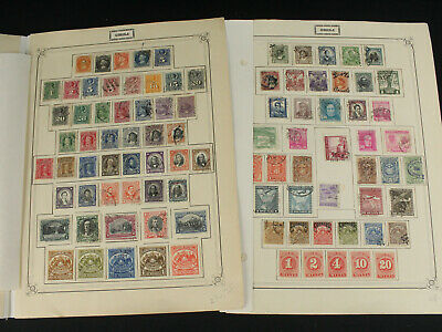 Early Chile Chili Stamp Collection Lot  Mint & Used 1800's+ Latin America Pages